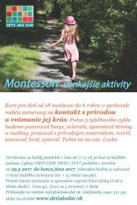 Montessori pracovne letak jun 2017